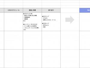 キャリアの棚卸しシート(Excel形式)